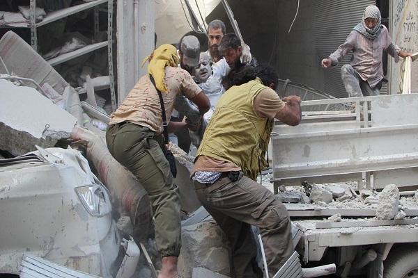 air raid on syrian idlib 24 killed