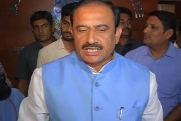 tweetof  mp home minister  visit delhi and visit diwali in madhya pradesh