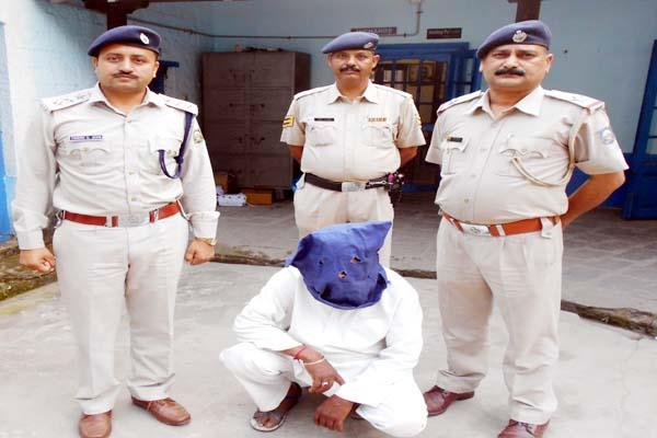 police arrested the murderer of commission agent