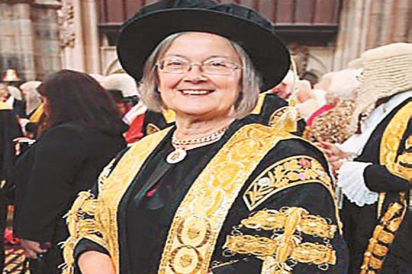 supreme court chief for first time in britain  s history