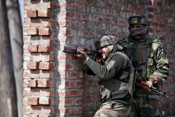 j k encounter between security forces and militants in bandipora