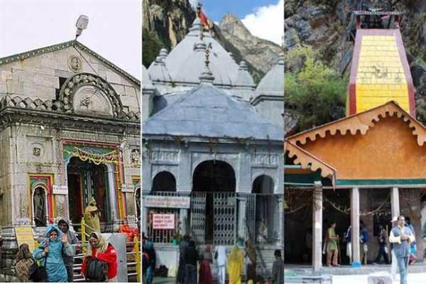 kedarnath and yamunotri doors closed for winter