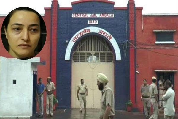 honeypreet diwali in jail