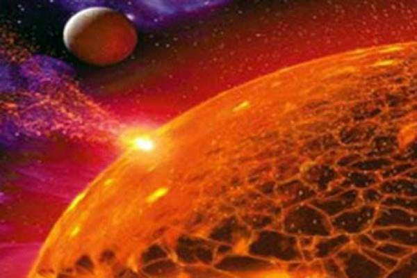 global polar light born on mars