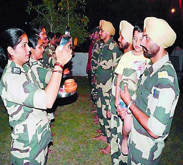 border security force karwachauth