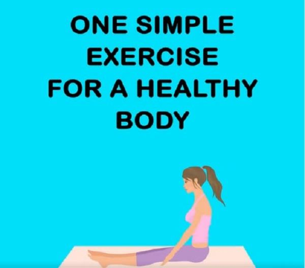 one simple exercise for a healthy body