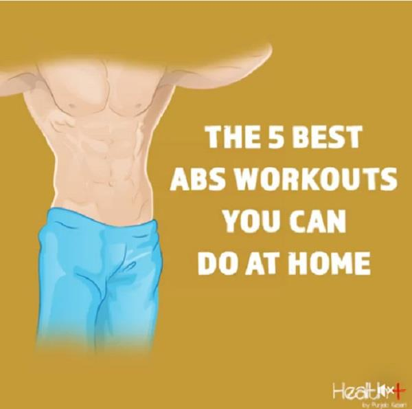the 5 best abs workouts you can do at home