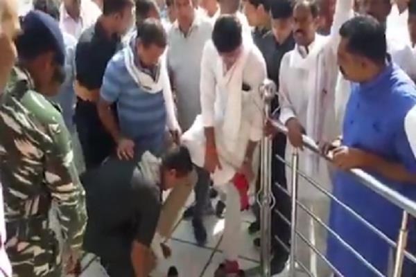rajasthan  congress  rameshwar dudi  video viral