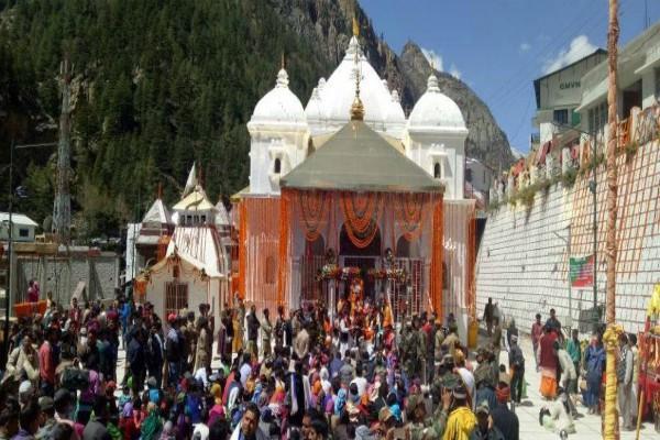 gangotri dham kapat will be closed on 20th october