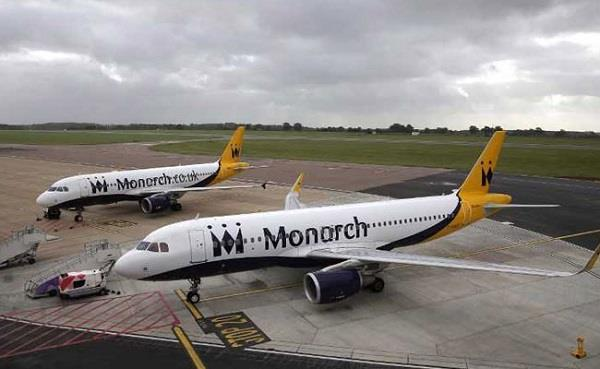 monarch files for insolvency in uk  s biggest airline failure