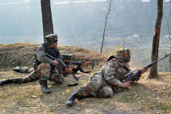 pak breaks ceasefire on loc on second day
