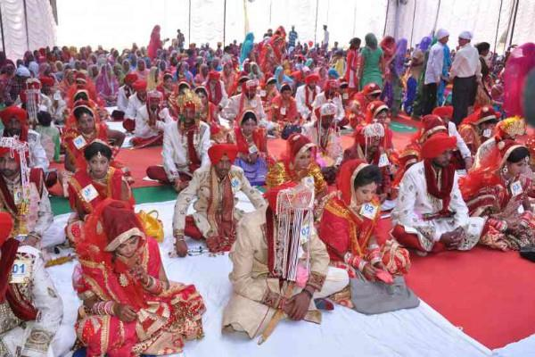 for the first time 31 girls cashless marriage