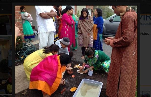 indian americans celebrate chhath pooja in us