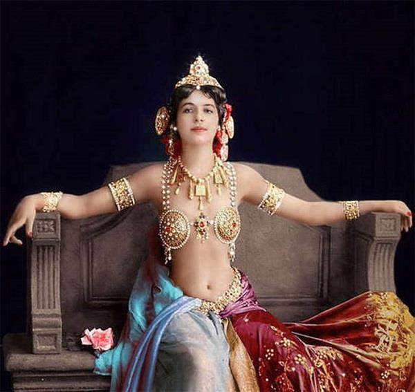 the history behind the  death of world most beautiful lady mata hari