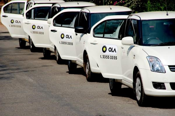 ola cabs now will be available at railway stations