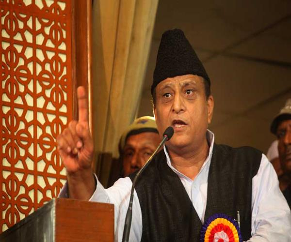 red fort and qutub minar is a sign of slavery azam khan