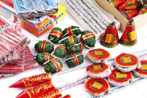 deepawali ashok yadav crackers