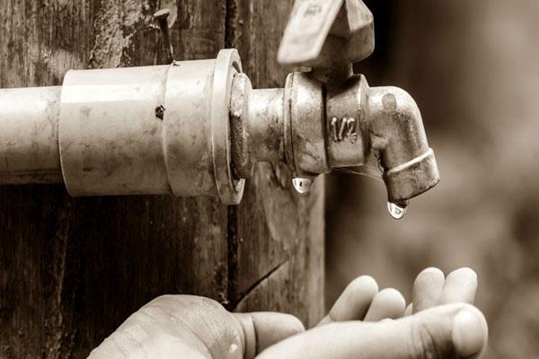 water scarcity in sunderbani