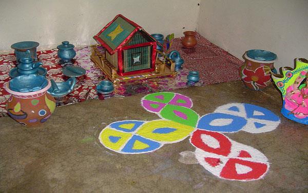 strange tradition on deepawali