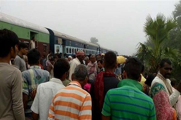 5 women died in train accident
