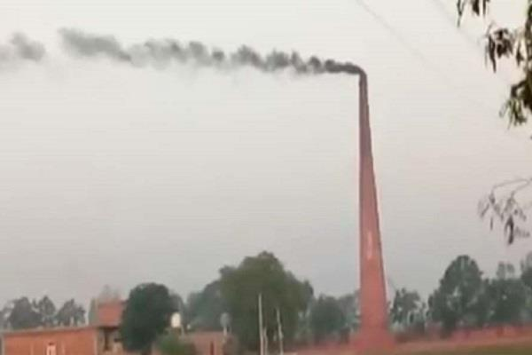 the smoke of the kilns is poisoned in the breath