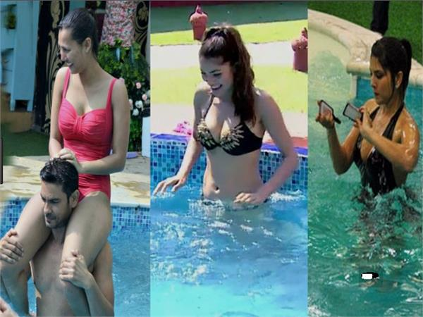 bigg boss 11 bikini babes