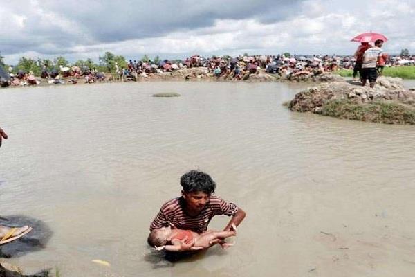 rohingya crisis unicef  simon ingram