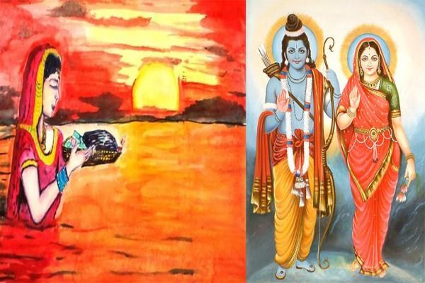 ma sita did the first chhath learn legend