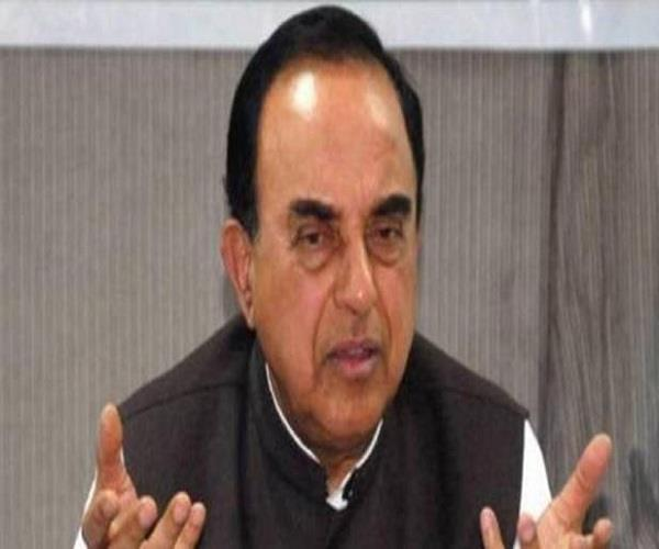 subramaniam swamy controversial statement after sangeet som