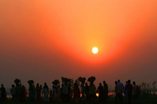 chhath festival this method is made for four days by fasting