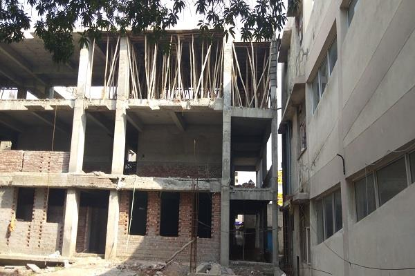 case of the building of the under construction ward