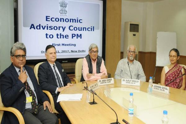 pm first meeting of the economic advisory council today
