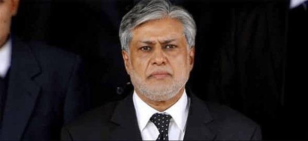 arrest warrant  issues against ishaq dar