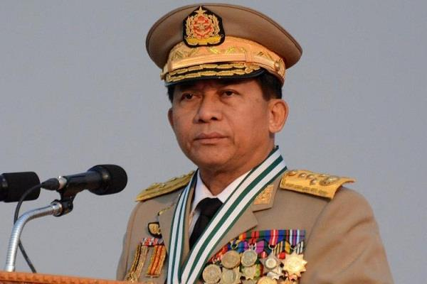 rohingya is not a citizen of myanmar  army chief