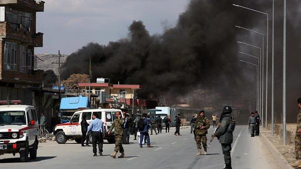 15 dead  over 40 wounded in afghan police centre attack
