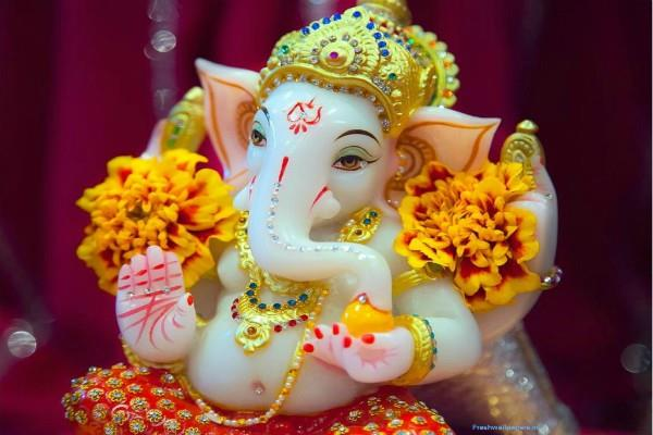 cautions while placed ganpati partima in house