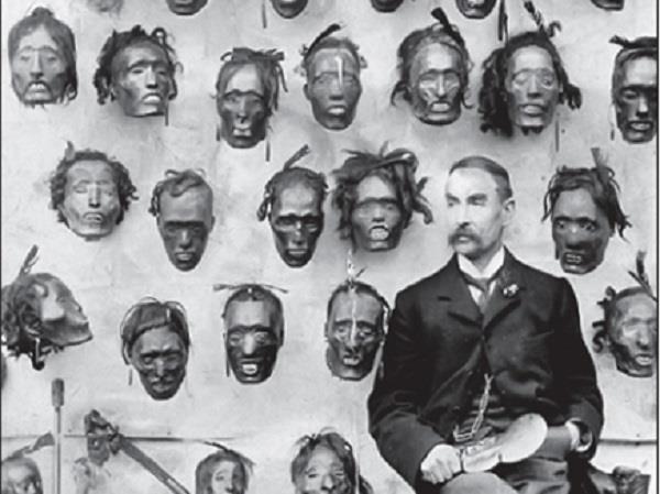 british army officer turned businessman of human skulls