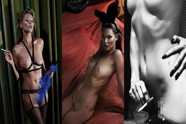 kate moss nude photoshoot