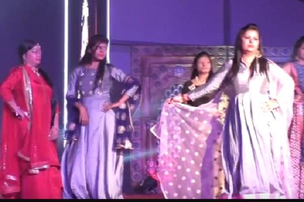 acid attacks ladies from across the country did ramp walk