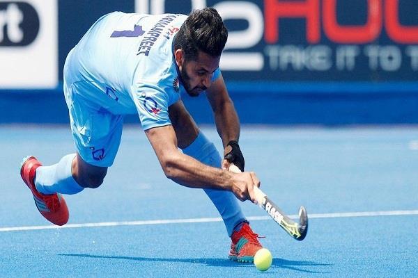 भारत ने एशिया कप हॉकी के पहले मैच में ...