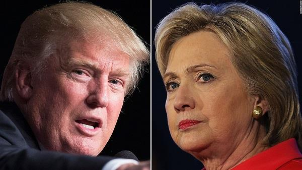 trump dares hillary clinton to run in 2020 presidential polls