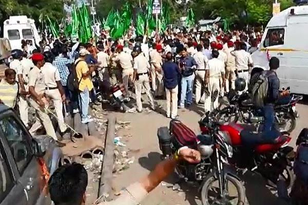 rjd protest against creation scandel