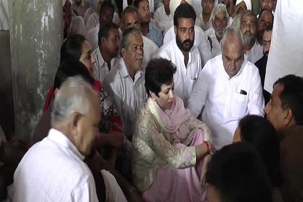 farmer suicides politics started kumari selja