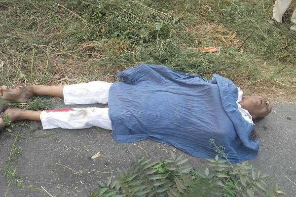 accident in moga death of husband and wife on the spot