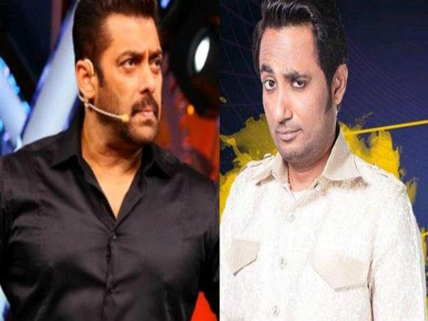 zubair khan and salman khan fight in biggboss sub television news creu