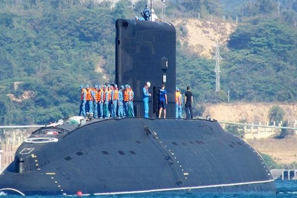 indian battleship now after vietnam  on the naval base of japan