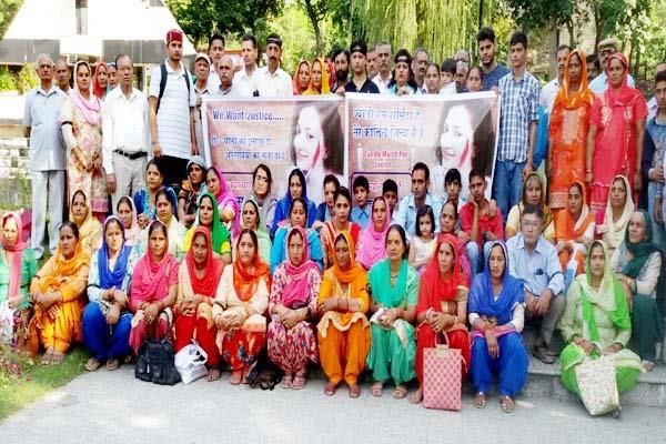 bilaspur  physiotherapist  death case  demonstration