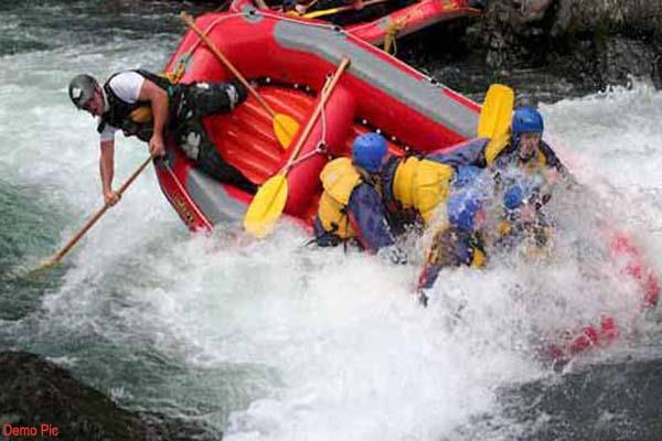 painful accident during rafting  death of tourist woman