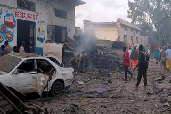terrorist attack in somalia hotel  29 killed