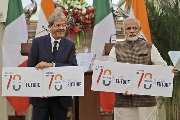india  italy pledged to fight terrorism and violent insurgency